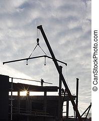 nouveau, construction bâtiments