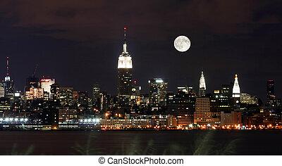 nouveau, horizon, york, th, ville