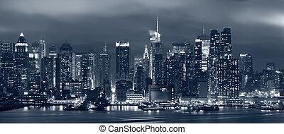 nouveau, manhattan, city., york