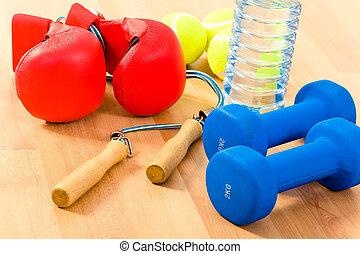 objets, sports