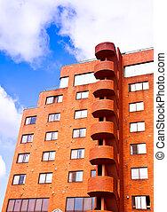 orange, bâtiment
