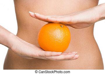 orange, régime