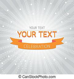 orange, vendange, carte, célébration