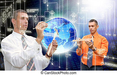 ordinateurs, technologie, innovateur