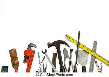 outils, vieux