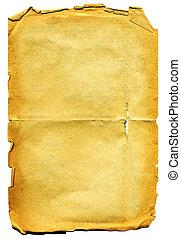 paper., lambeaux, vieux, textured