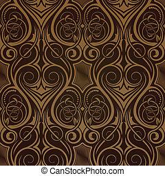 papier peint, seamless, brun
