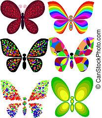 papillon, artistique