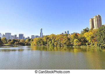 parc central, york, nouveau