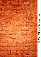 parfait, grunge, mur, -, fond, brique