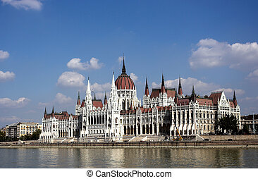 parlement, hongrie, bâtiment