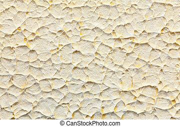 peint, grand, mur, beige, texture