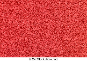 peint, grand, mur, rouges, texture