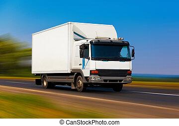 petit, camion