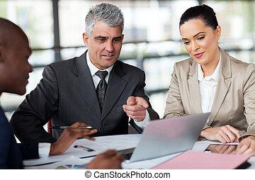 planification, travail, equipe affaires