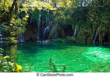 plitvice, lacs, chutes d'eau