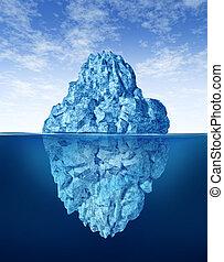 pointe, iceberg