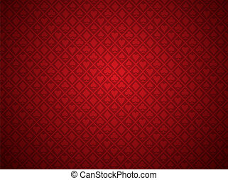 poker, arrière-plan rouge