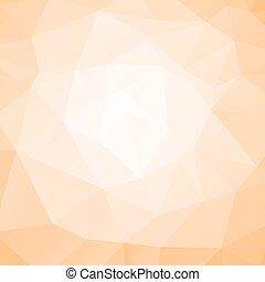 polygonal, résumé, fond, vecteur, illustration