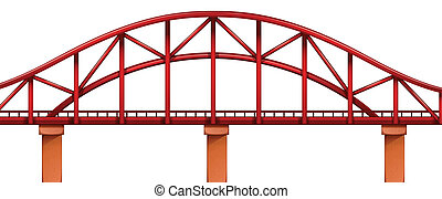 pont, rouges
