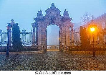 portail, buda, budapest, château