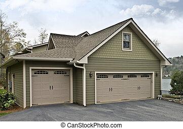 portes garage, maison