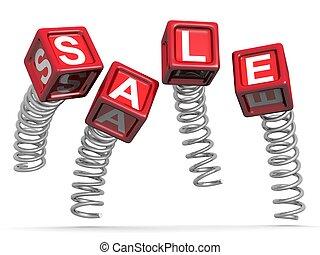 promotion, concept, ventes, sauter