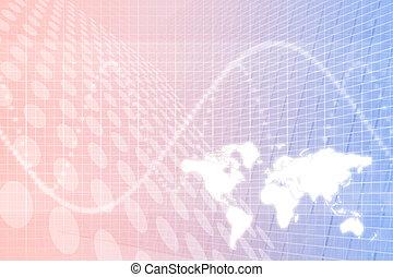résumé, affaires globales, fond