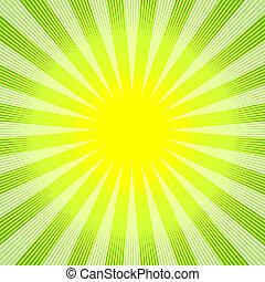 résumé, fond, vert-jaune, (vector)