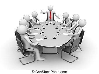 réunion conférence, salle