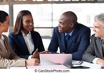 réunion, groupe, avoir, professionnels
