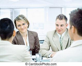 réunion, professionnels