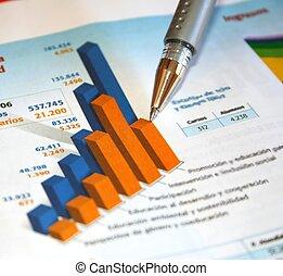 rapport, comptabilité