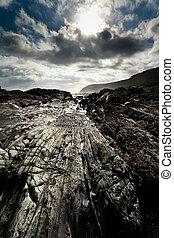 rocheux, littoral