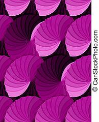 rose, gradient, rosettes, seamless, modèle