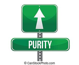 route, conception, pureté, illustration, signe
