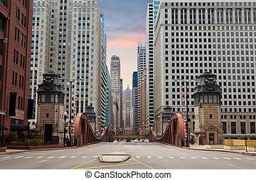 rue, chicago.