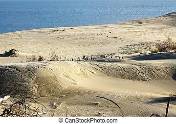 sable, bord mer, dune