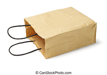 sac, papier, jetable