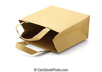 sac papier, recyclé