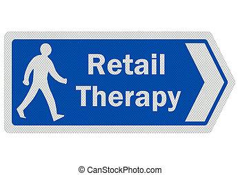 ', signe, photo, isolé, réaliste, therapy', blanc, vente au détail