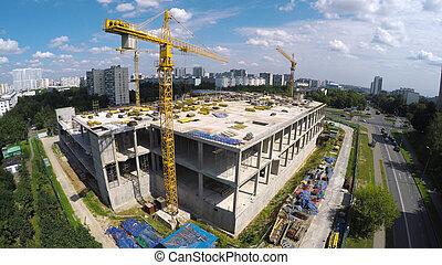 site construction, ville
