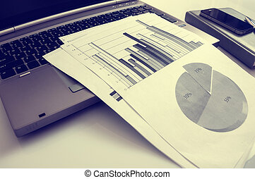 statistiques, commercialisation, concept., commercial, publicité, numérique, améliorer, promotion