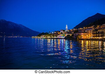 sul, limone, garda, night.