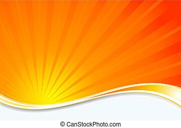 sunburst, fond