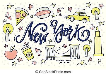 symboles, new york