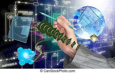 télécommunications, technolo, numérique