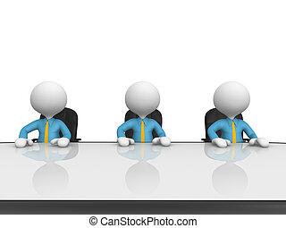 table, conférence