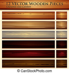 texture bois, fond, illustration, seamless