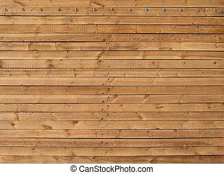 texture, mur, bois